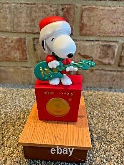 Ensemble De 4 Bandes Interactives De Noël Sans Fil Hallmark Peanuts 2011