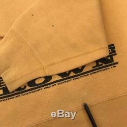 Épinette Snoopy Épais Sweat 60 Originaux Charlie Vintage Hommes Brown Taille M De D'occasion