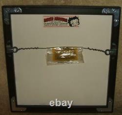 Framed Limited Edition (295/500) Sowa - Reiser Hc Gravure Snoopy - Charlie Brown