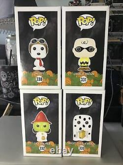 Funko Pop Peanuts Halloween Fantôme Charlie Brown Flying Ace Snoopy Sorcière Set Lucy