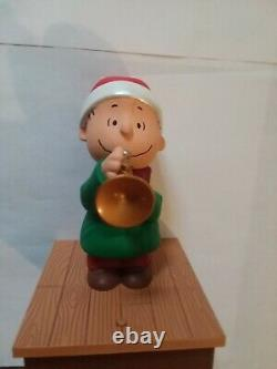 Hallmark Charlie Brown & Peanuts Gang 2011 Bande De Noël Sans Fil Ensemble De 5