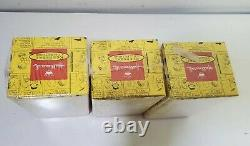 Hallmark Peanuts Gallery Limited Edition Lot De 3 Figurines Nouveau! Charlie Brown