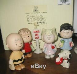 Immense Terrain De Lenox Le Peanuts Gang Snoopy Charlie Brown Sally Linus Seasons 750 $