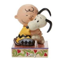 Jim Shore Arachides Charlie Brown Snoopy Étreindre Figurine 6007936