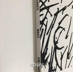 Kaws Man's Meilleur Enviseur Nouveau Livre Stoopy Cacahuètes Charlie Marron
