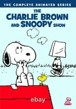 Le Charlie Brown & Snoopy Show La Série Complète Brand New 2-disc DVD Set