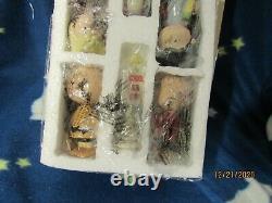 Lenox Peanuts Back To School 6 Figurine Set Snoopy Charlie Brown Lucy Nouveau Dans Box