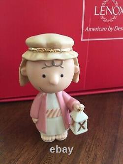 Lenox Peanuts Le Concours De Noël Snoopy Sally Linus Charlie Brown Woodstock