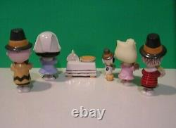 Lenox Peanuts Thanksgiving Charlie Brown Sally Snoopy Linus Lucy Nouveau Dans Box Wcoa