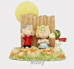 Lenox Peanuts The Great Pumpkin Figurine Snoopy Charlie Brown Nouveau Dans La Boîte