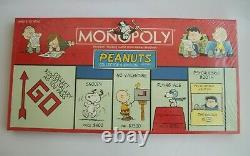Les Cacahuètes Original Snoopy Charlie Brown Monopoly Unopened