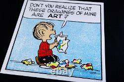 Les Dessins Sont De L'art De Charles Schulz Peanuts Snoopy Charlie Brown Poster Mondo