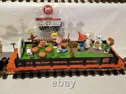 Lgb Echelle G 44610 Peanuts IL La Grande Citrouille D'halloween Charlie Brown Snoopy