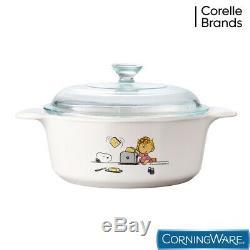 Limited Edition Corningware Peanuts Snoopy Couvert Casserole Snoopy Batterie De Cuisine