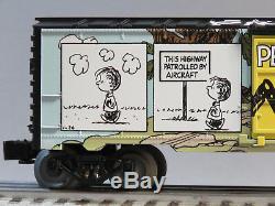 Lionel Arachides Hilltop Boxcar Voiture Charlie Charles Brown Comics 6-84676 Nouveau