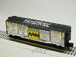 Lionel Arachides Snoopy Art Comic Hiver Box Voiture O Calibre Train De Bande Dessinée 6-84678 Nouveau