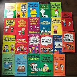 Lot 47 Charlie Brown Snoopy Books Charles M. Schulz Livres De Poche