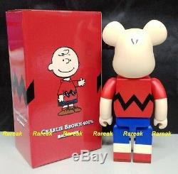 Medicom Be @ Rbrick 2015 Snoopy Snoopy Comic 400% Charlie Brown Bearbrick 1p