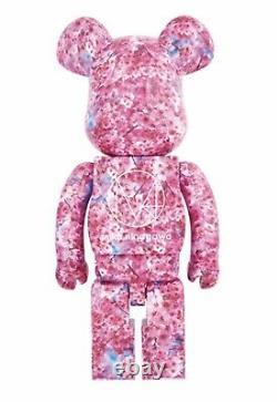 Medicom Bearbrick 2017 Mika Ninagawa Sakura Premier Amour 1er 100% Be@rbrick Nouveau