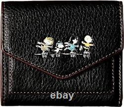 Nouvel Entraîneur Peanuts Charlie Brown Portefeuille De Patinage Sur Glace. #16128 B. Édition Limitée