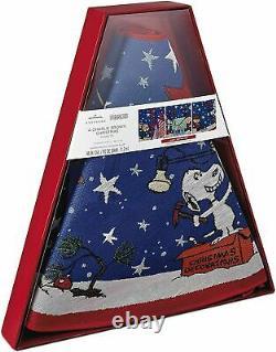Nouvelles Arachides Snoopy Charlie Brown Hallmark Noël Light Up Magic Tree Jupe