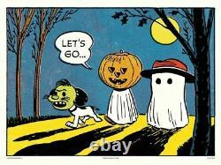 Partons Peanuts Charlie Brown- Snoopy Charles Schulz XXX / 150 Mondo