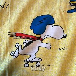 Peanuts 1972 Couverture De Lit Pleine Taille 80 X 108