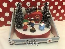 Peanuts 2019 Kurt Adler Christmas Tree Bande-annonce Charlie Brown Snoopy Animé Nouveau
