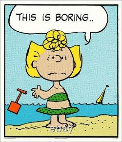 Peanuts Boring Charles Schulz Charlie Brown/snoopy Print/poster Mondo