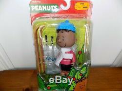 Peanuts Charlie Brown De Noël Franklin Figure Set Nouveau Rarissime