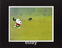 Peanuts Charlie Brown Et Snoopy Show Production Animation Cel 1985 13