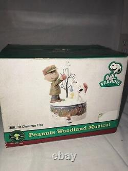 Peanuts Charlie Brown Snoopy Et Woodstock Weihnachten Musikalischer Gehäuse Roman