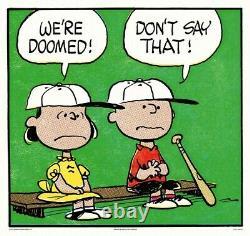 Peanuts Dévorés Charles Schulz Charlie Brown/snoopy Imprimer/afficher Mondo Épuisé
