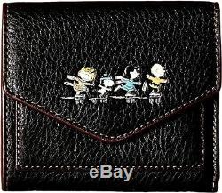 Peanuts Entraîneur Charlie Brown Wallet Patin À Glace. # 16128 B. Nouveau Dans La Boîte Snoopy