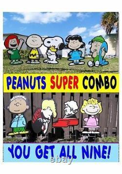 Peanuts Gang Charlie Brun Combo