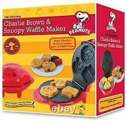 Peanuts Peanuts Snoopy Et Charlie Brown Smart Planet Wm6s Waffle Maker Kitchen