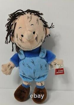Peanuts Pig Pen 12 Peluche Jouet Charlie Brown Cedar Fair Exclusive Camp Snoopy Tag