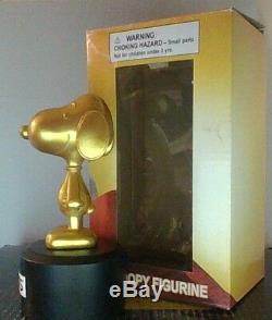 Peanuts Snoopy Charlie Brown Snoopy Film Oscar Figurine Extremly Rare