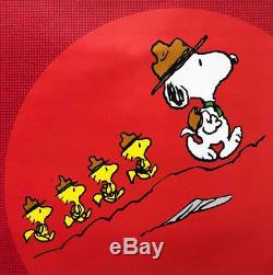 Peanuts Snoopy Et Beagle Scouts Nouveau Perso Art Charlie Brown Encadré Peanuts