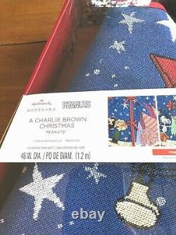 Peanuts Une Jupe Charlie Brown De Noël Lumières 2019