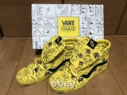Peanuts Vans Snoopy Charlie Brown Sk8 Hi Rééditions Chaussures Jaunes Hommes 11