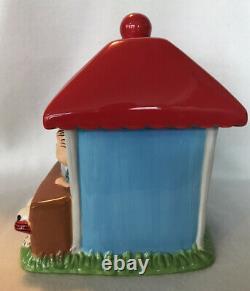 Rare Cookie Jar Peanuts Gang Snoopy Charlie Brown Lucy Linus