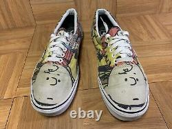 Rare Vans X Peanuts Charlie Brown & The Gang Snoopy Era Sneakers Sz 11.5 Homme