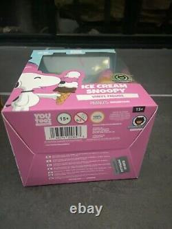Sdcc 2021 Peanuts Snoopy Ice Cream Figure Sprinkles Chase Youtooz Le 200