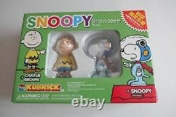 Snoopy Astronaut Charlie Brown 100% Medicom Kubrick Nouveau Showcase Vol. 3 Non Kaws