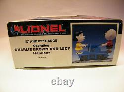 Snoopy Charlie Brown - Lucy Lionel Trains Voiture À Main Motorisée