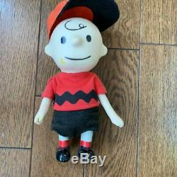 Snoopy Cru Charlie Brown & Snoopy Poche Poupée 1967 Arachides Capuchon Amovible