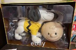 Snoopy Sdcc 2019 Taille Réelle Super 7 Vraiment Grand! Nouveau! Ouvre La Boîte! Tourteaux D'arachides
