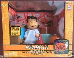 Son Grand Pumpkin, Charlie Brown Peanuts Halloween Jouets En Jouant Mantis