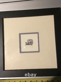 Sowa - Reiser Charlie Brown Snoopy Matted Framed Print Signé Numéroté 349/500
